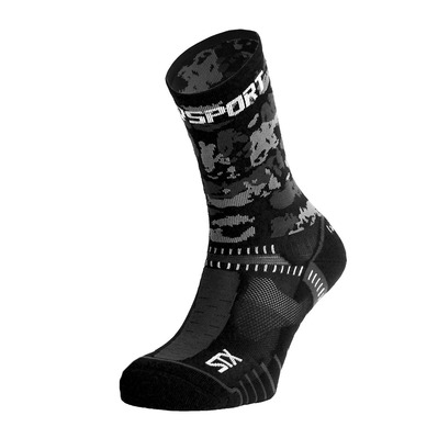 BV SPORT - STX EVO COLLECTOR ARMY - Chaussettes noir/gris