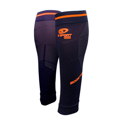 BV SPORT - BOOSTER ELITE EVO2 - Calf Sleeves - blue/orange