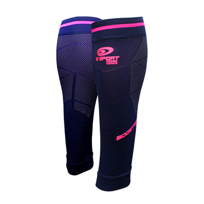 BV SPORT - BOOSTER ELITE EVO2 - Calf Sleeves - Women's - blue/pink