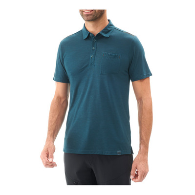 MILLET - SS Polo Men's - IMJA WOOL orion blue