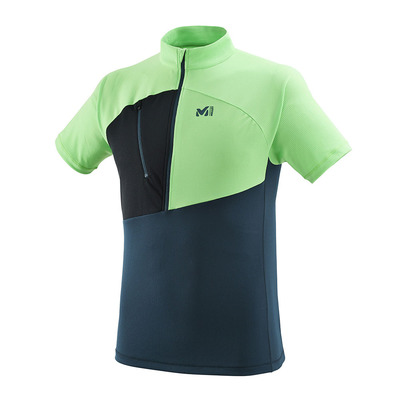MILLET - ELEVATION - Maillot Homme orion blue/flash green