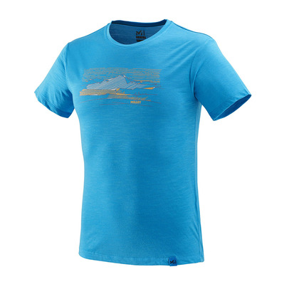 MILLET - SEVAN WOOL - Camiseta hombre electric blue