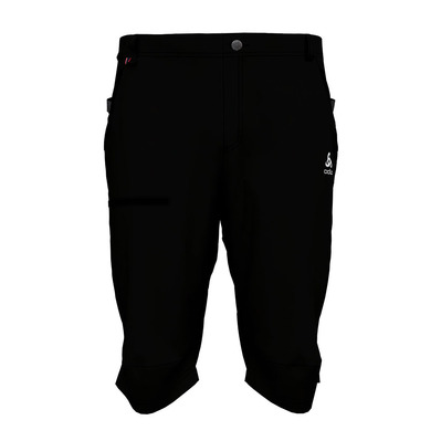 ODLO - SAIKAI COOL PRO - Bermuda Shorts - Men's - black/steel grey
