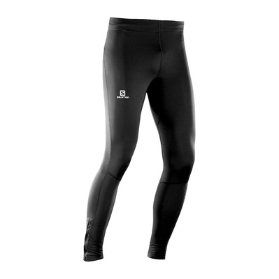 SALOMON - AGILE - Leggings - Men's - black