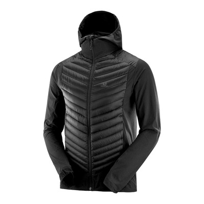 SALOMON - HALOES - Hybrid Jacket - Men's - black