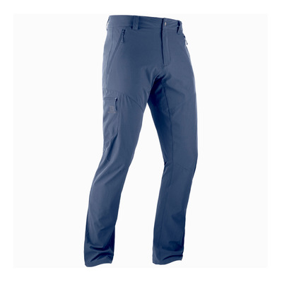 SALOMON - WAYFARER TAPERED - Pants - Men's - night sky