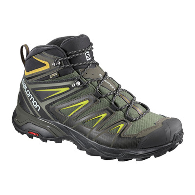 SALOMON - Hiking Shoes - Men's - X ULTRA 3 MID GTX® castor gra/bk