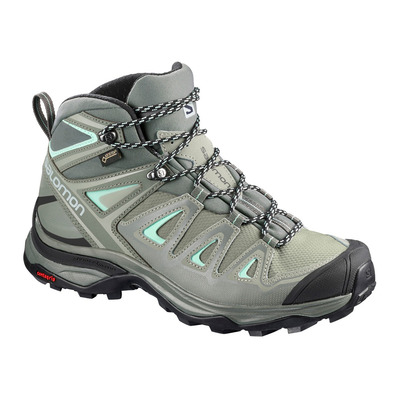 SALOMON - Hiking Shoes - Women's - X ULTRA MID 3 GTX® shad/castor