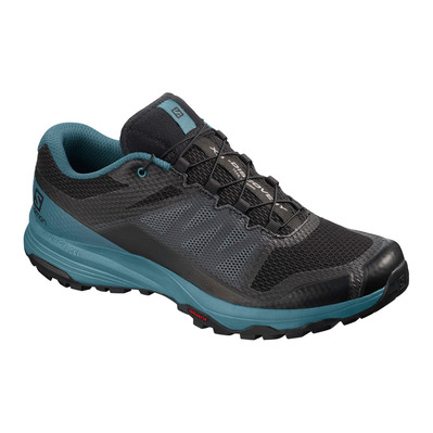 SALOMON - XA DISCOVERY - Trail Shoes - Men's - black/mallard blue/ebony