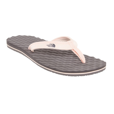 THE NORTH FACE - BASE CAMP MINI - Chanclas mujer rabbit grey/pink salt