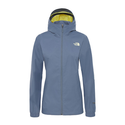 THE NORTH FACE - QUEST - Giacca Donna grisaille grey/exotic grn