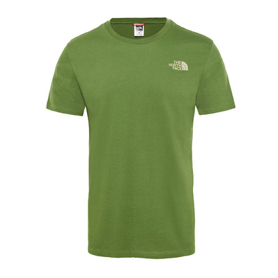 THE NORTH FACE - SIMPLE DOME - Tee-shirt Homme garden green