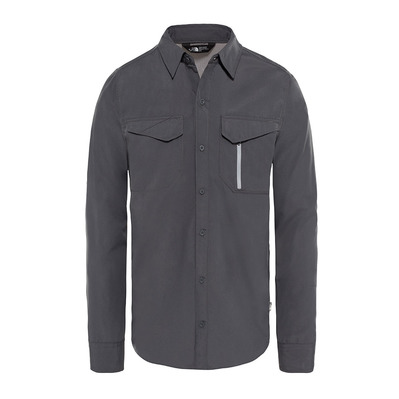 THE NORTH FACE - SEQUOIA - Shirt - Men's - asphalt grey/mid grey