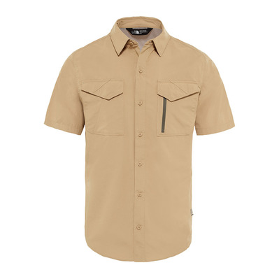 THE NORTH FACE - SEQUOIA - Camisa hombre kelp tan