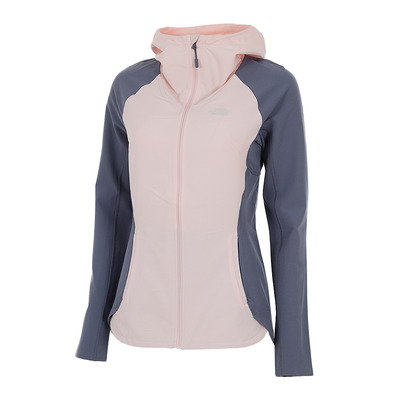 THE NORTH FACE - INVENE - Giacca Donna pink salt/grisaille grey