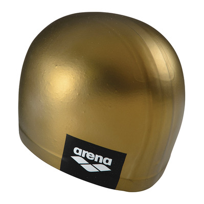 ARENA - LOGO MOULDED - Swimming Cap - gold