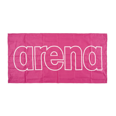 ARENA - GYM SMART - Towel - fresia pink/white