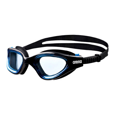 ARENA - ENVISION - Swimming Goggles - black blue/blue