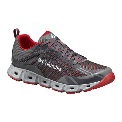 COLUMBIA - DRAINMAKER IV - Escarpines hombre city grey/mountain red