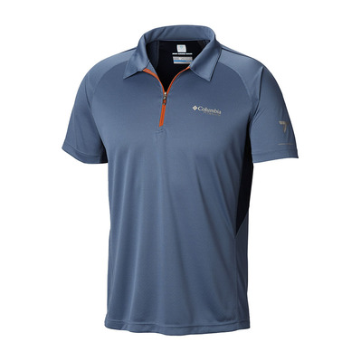 COLUMBIA - TITAN TRAIL - Polo Homme mountain/collegiate navy