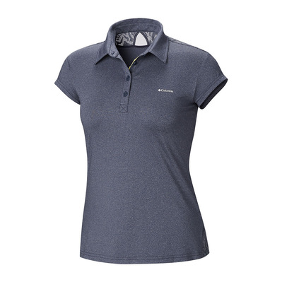 COLUMBIA - PEAK TO POINT - Polo Femme nocturnal