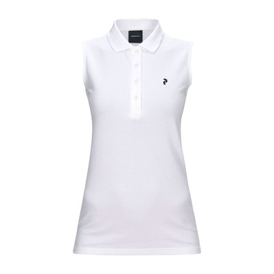 PEAK PERFORMANCE - CLAPIQ - Polo mujer white