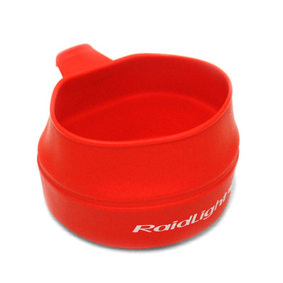 RAIDLIGHT - FOLDING ECO CUP - Cup - 250ml red