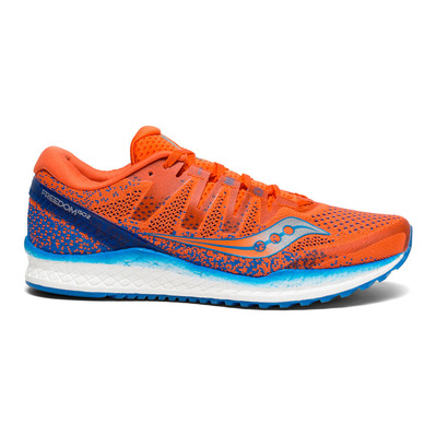 SAUCONY - FREEDOM ISO 2 - Chaussures running Homme orange/bleu