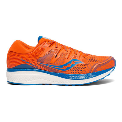 SAUCONY - HURRICANE ISO 5 - Chaussures running Homme orange/bleu