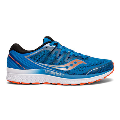 SAUCONY - GUIDE ISO 2 - Chaussures running Homme bleu/orange