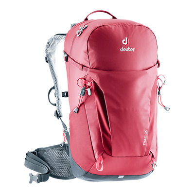 DEUTER - TRAIL 26L - Backpack - raspberry/graphite
