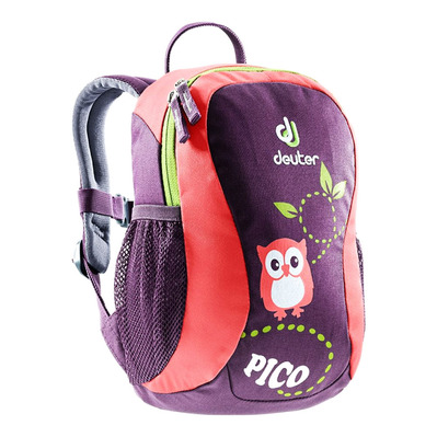 DEUTER - PICO 5L - Mochila Junior prune/corail