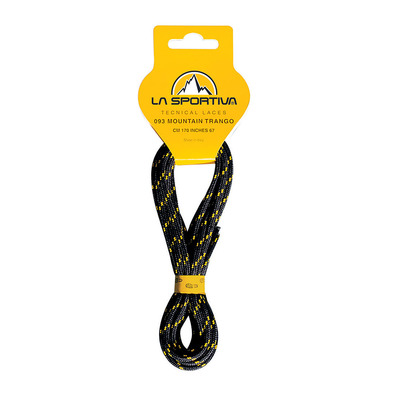 LA SPORTIVA - MOUNTAIN TRANGO 170 - Lacets black/white