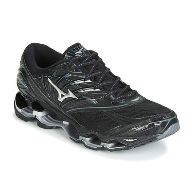 MIZUNO - WAVE PROPHECY 8 - Chaussures running Homme black/silver/stormy weather