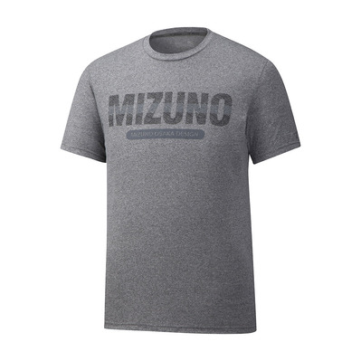 MIZUNO - HERITAGE - Camiseta hombre heather grey