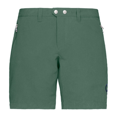 NORRONA - BITIHORN FLEX1 - Short mujer jungle green