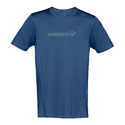 NORRONA - /29 TECH - Camiseta hombre indigo night