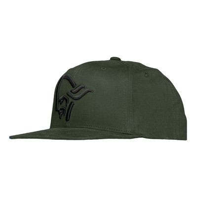 NORRONA - /29 SNAP BACK - Gorra olive night