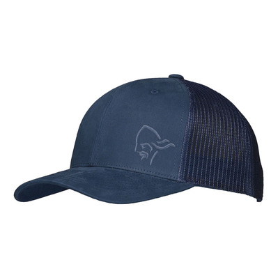 NORRONA - Cap - /29 TRUCKER MESH SNAP BACK indigo night