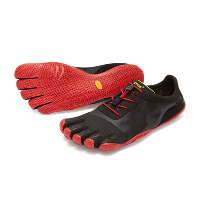 FIVE FINGERS - KSO-EVO - Zapatillas de training hombre black/rouge