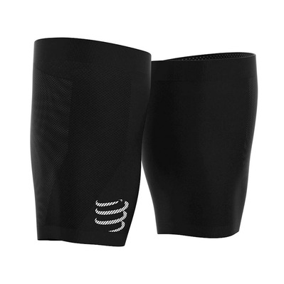 COMPRESSPORT - UNDER CONTROL QUAD - Medias black