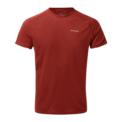 CRAGHOPPERS - BASELAYER - Camiseta hombre firth red