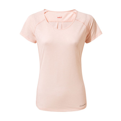 CRAGHOPPERS - HARBOUR - T-shirt Donna seashell pink