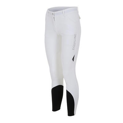 EQUILINE - BOSTON - Pantaloni Donna white