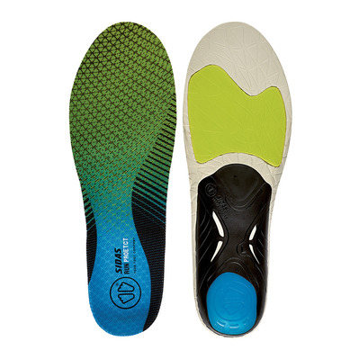 SIDAS - RUN 3D PROTECT - Semelles black/blue/lime