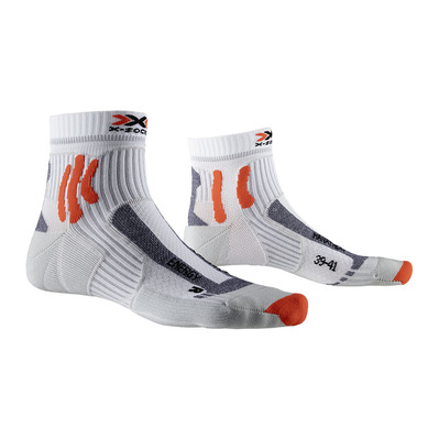 X-SOCKS - MARATHON ENERGY - Chaussettes blanc/orange