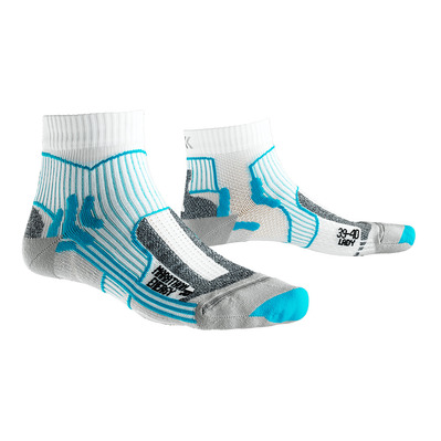 X-SOCKS - MARATHON ENERGY - Socks - Women's - white/turquoise