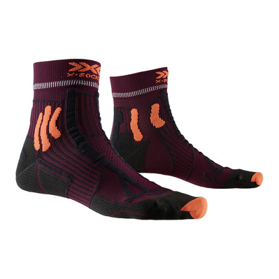 X-SOCKS - TRAIL ENERGY - Socks - sunset orange/black