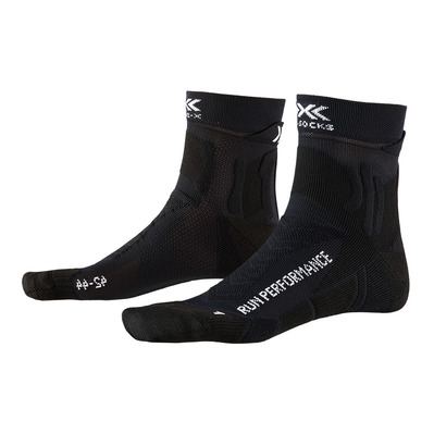 X-SOCKS - RUN PERFORMANCE - Chaussettes noir opale