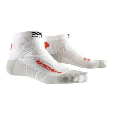 X-SOCKS - RUN DISCOVERY -  Socks - white /grey dolomite